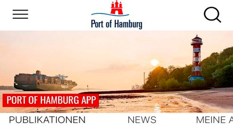 The new Port of Hamburg App is now available free of charge