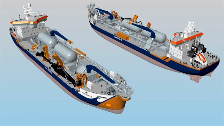 Wärtsilä to supply a unique LNG fuel storage system for two new dredgers