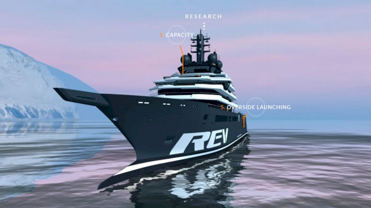 REV Ocean to build the world's largest research and expedition vessel