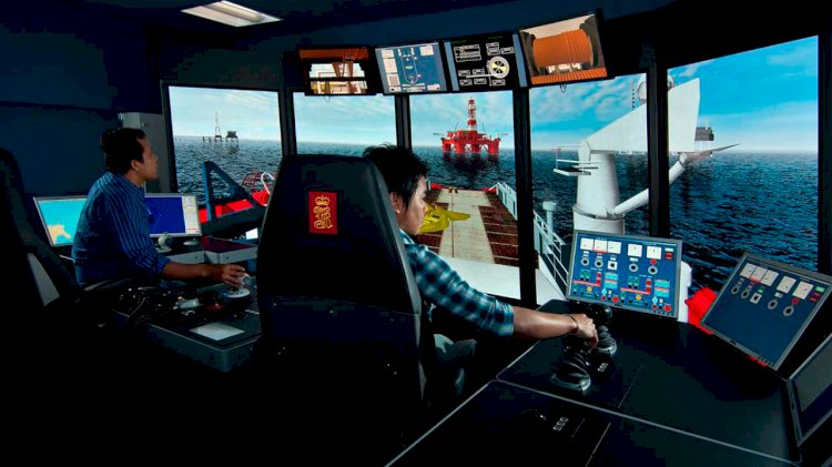 Jiangsu Maritime Institute selects KONGSBERG's advanced K-Sim simulator technology