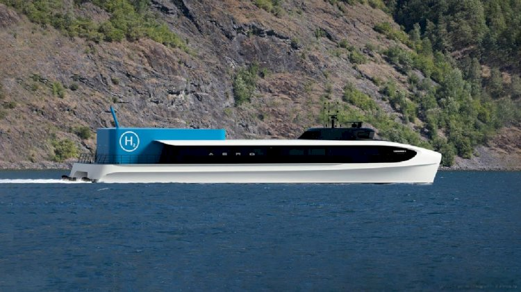 Brødrene Aa presents a new aerodynamic fast ferry design