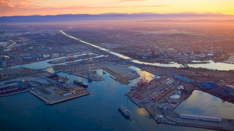 Port of Long Beach cuts diesel pollution 87%