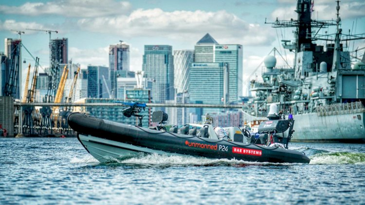 BAE Systems demonstrates first integration of USV with Royal Navy warship
