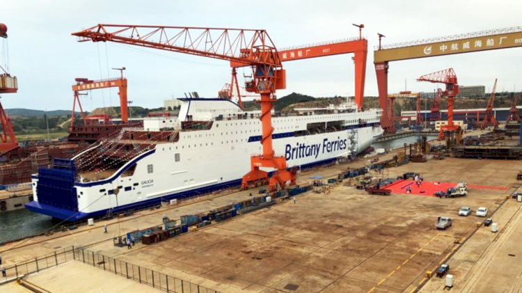 Two new ships for Brittany Ferries