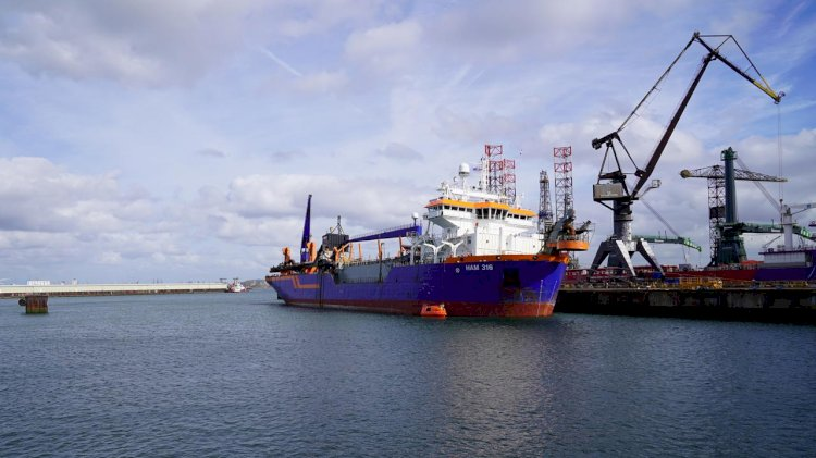 Van Oord and Shell test the use of biofuel on vessels