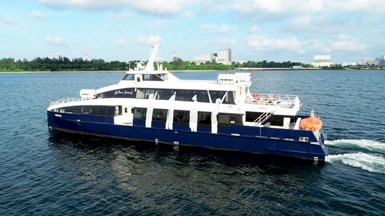 Incat Crowther and Penguin Shipyard launched a new Flex Ferry