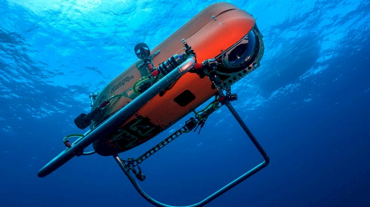 Orpheus AUV explores the ocean's depths in Veatch Canyon