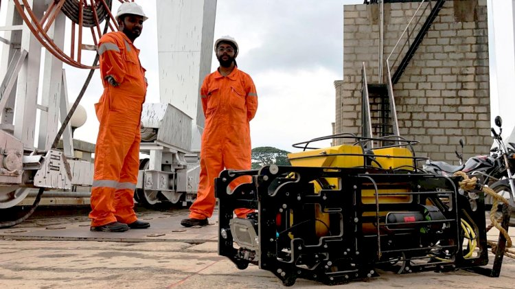 Ports test an underwater robot that can inspect quays