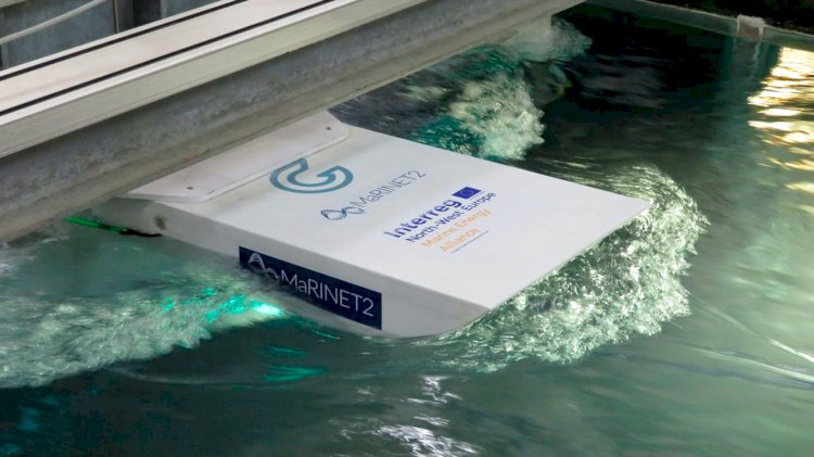 GKinetic tests its submerged tidal device