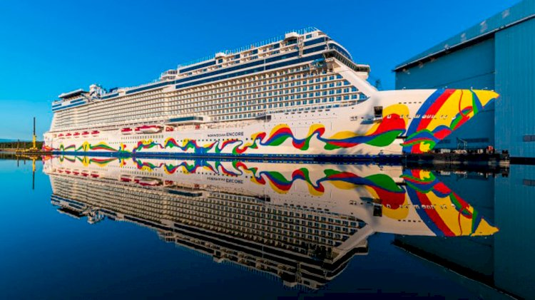 One of the largest cruise ships in Germany was built for NCL