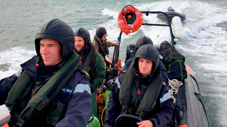 Britain's Royal Navy detonates huge historic bomb