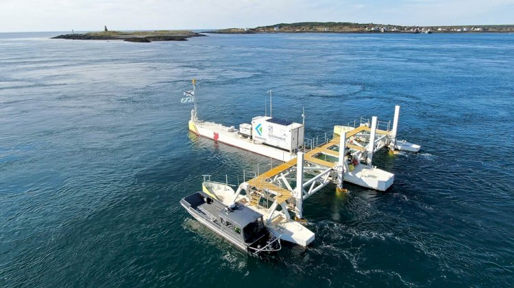 Two companies launch a new tidal energy project in Canada