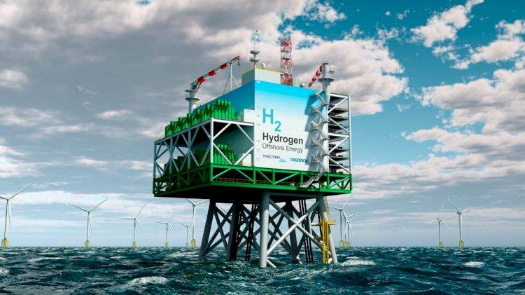 """""""Green"""" hydrogen: A unique concept for an offshore platform"""