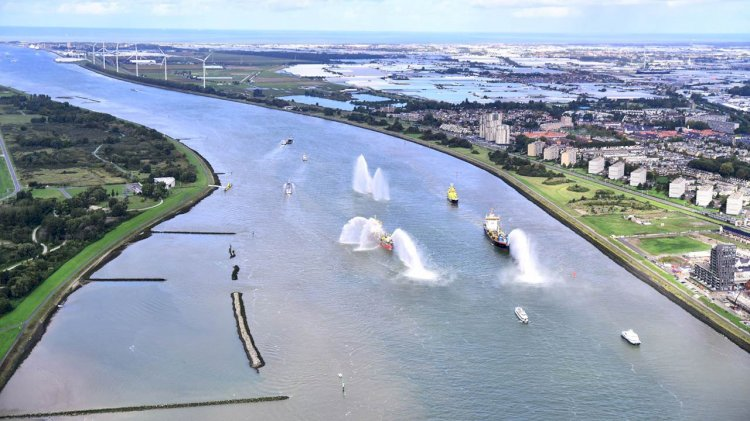 Deepening of the busiest waterways in the Netherlands complete