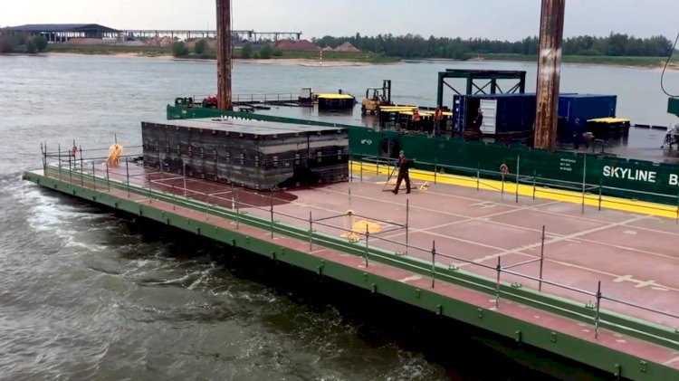 Port of Tilbury launches a new floating pontoon