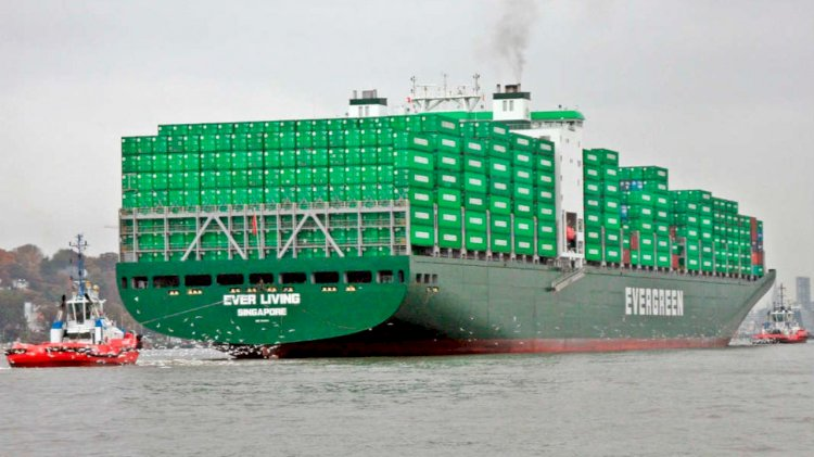 Samsung Heavy Industries to build six large container ships for Evergreen
