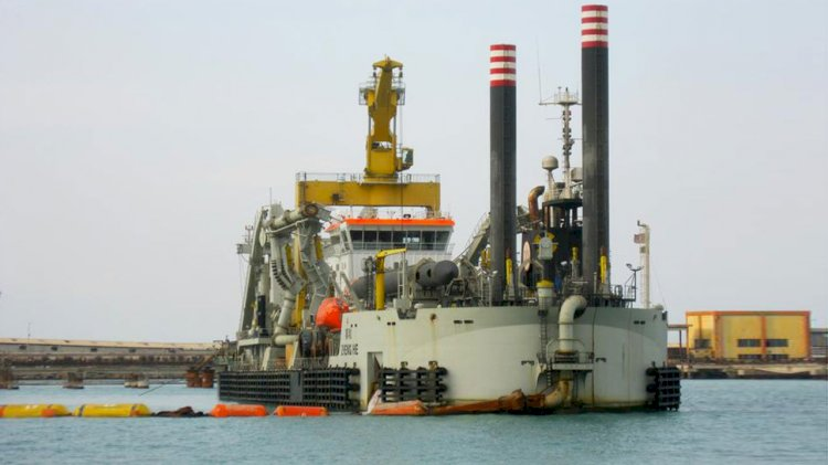 Jan De Nul helps to boost Mauritania's iron ore export