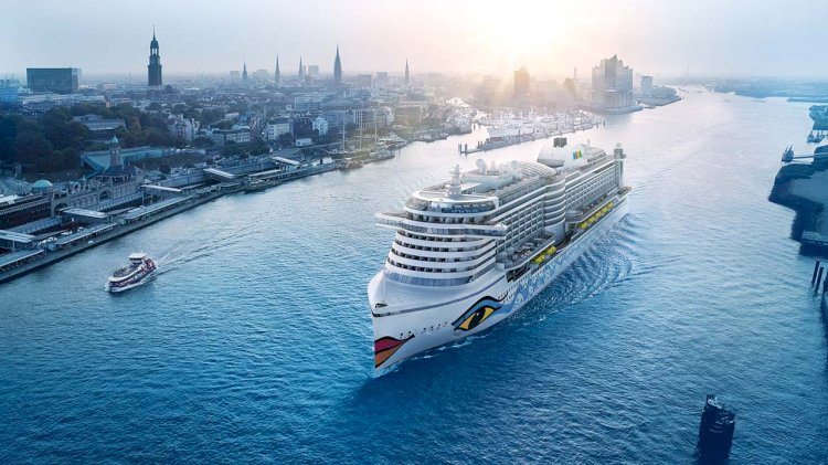 New LNG-powered ship for AIDA Cruises