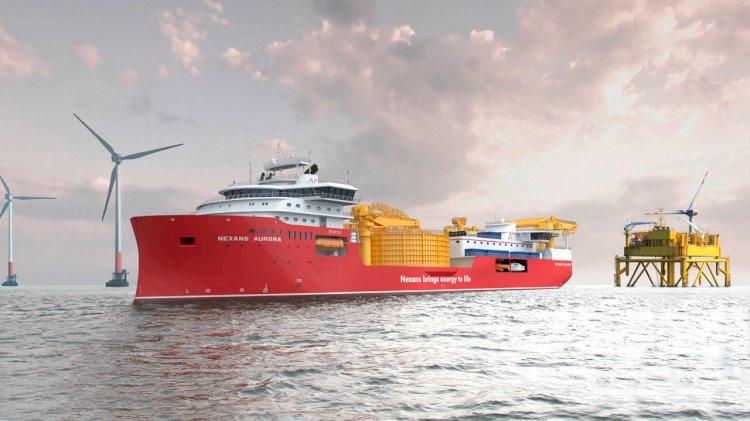 Nexans Aurora: the next step in submarine cable installation