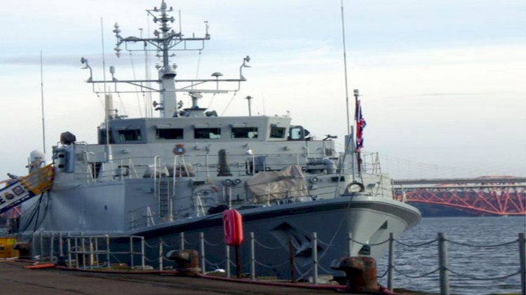 Babcock completes work on HMS Pembroke at Rosyth site
