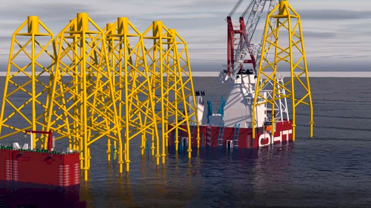 Alfa Lift - the smart design for offshore wind installations