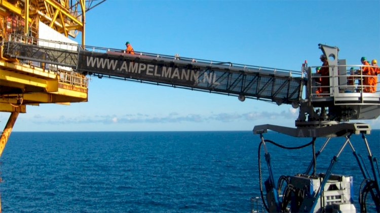 Ampelmann secures W2W Project with Horizon Maritime in Nigeria