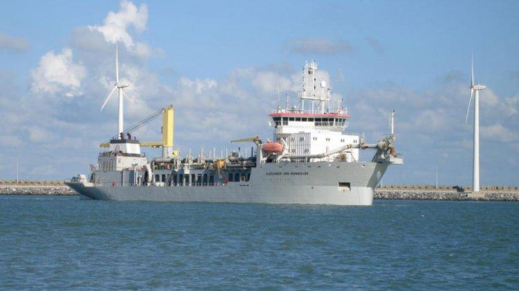 Jan De Nul goes 100% biofuel for dredging work