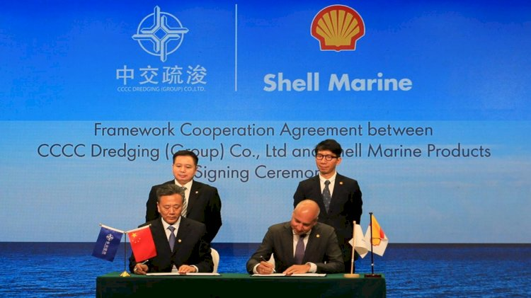 Shell Marine signs fleet-wide lubricants contract in China