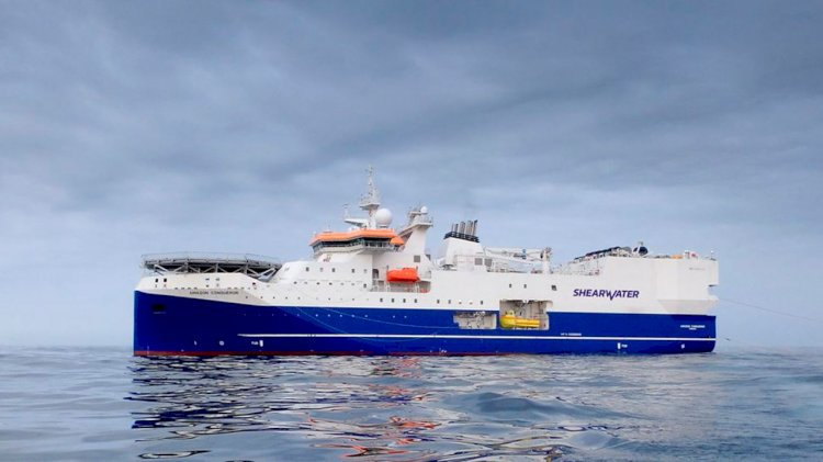 Shearwater awarded 4D campaign in the Asia Pacific region by Woodside