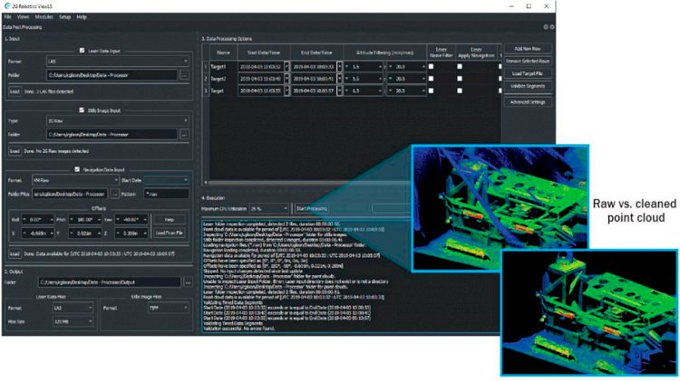 2G Robotics releases new software to combine navigational and laser data