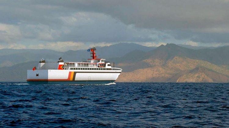 Damen Shipyards builds RoPax for the Republic of Timor-Leste