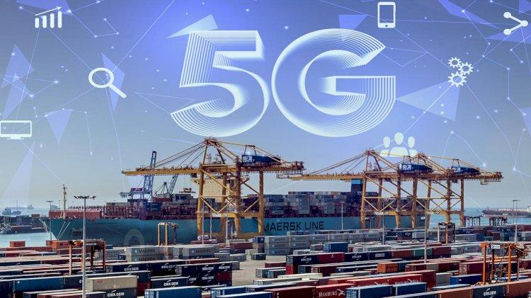 APM Terminals Barcelona unveils 5G V2X crane communication systems