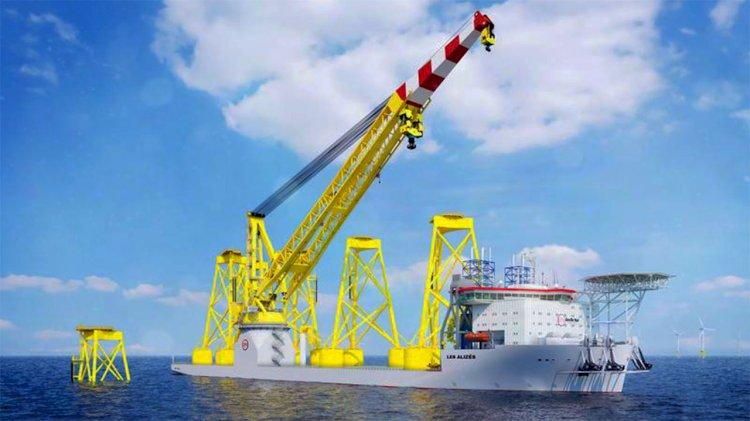 Jan De Nul orders super-size class vessel Les Alizés