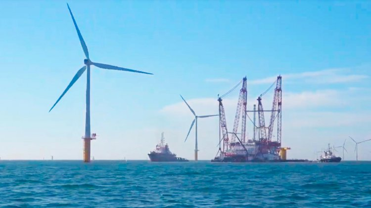Partners announce the first floating WTG installation for wind farm