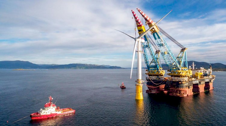 Saipem's first turn-key project in the offshore wind farm sector