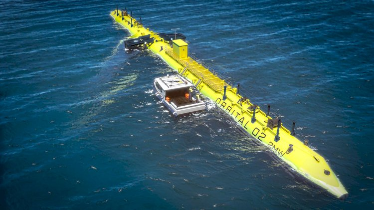 Orbital awards blades contract for O2 tidal turbine