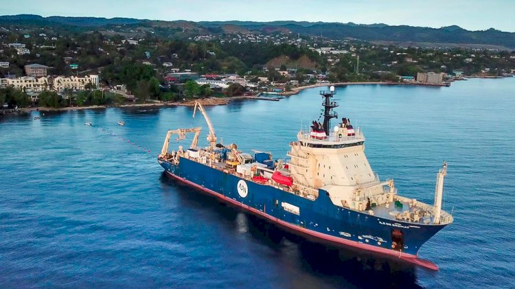 New subsea cable between Guam and Australia lands in Sydney
