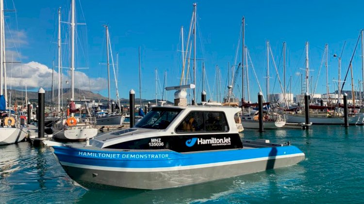 Sea Machines and HamiltonJet collaborate to merge capabilities of autonomous control system