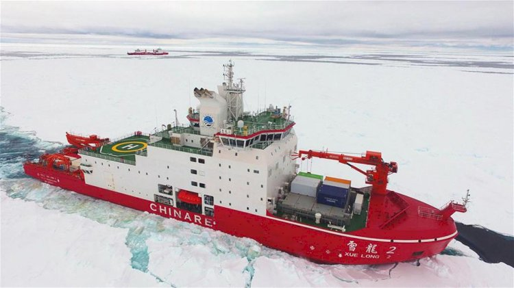 MacGregor deck handling solution supports Xue Long 2 icebreaker operation