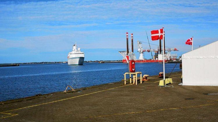 Port of Esbjerg is braced for a sea-level rise of 89 cm