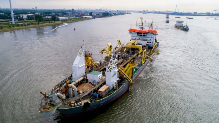 Boskalis awarded maintenance contract for Port of Rotterdam