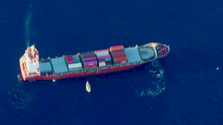 Crew of dismasted sailing vessel was rescued southwest of Hawaii