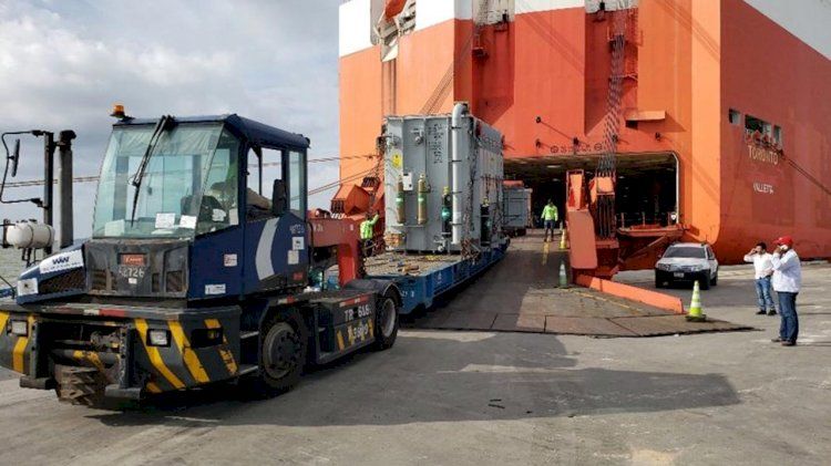 Siemens Colombia ships one of its largest transformers