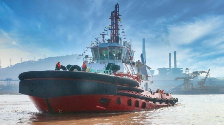 New dual-fuel tug delivered to Ningbo port