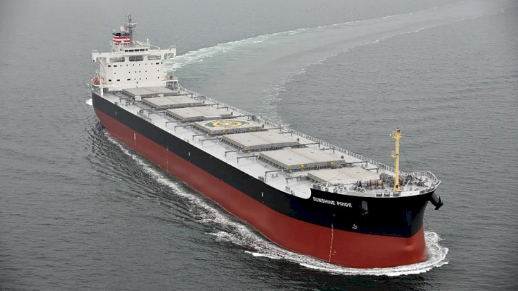 Coal carrier Sunshine Pride Enters service for Joban Joint Power