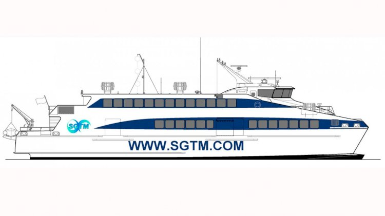 Austal awarded high-speed catamaran ferry contract for SGTM Mauritius