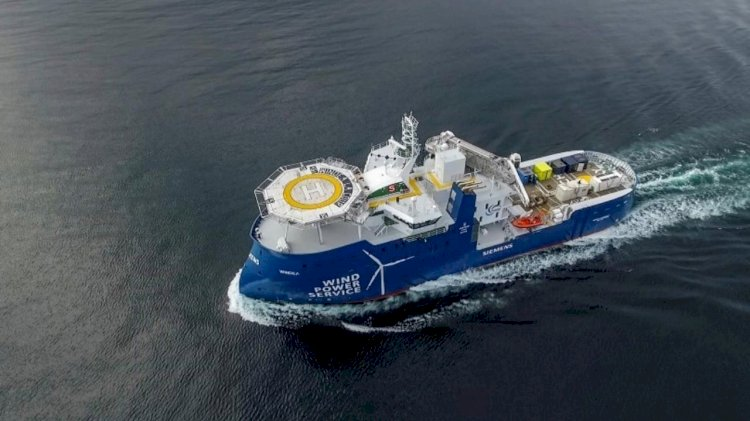 Ulstein tests the Energy Management System on Bernhard Schulte's vessel