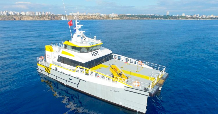 Fourth Damen's Fast Crew Supplier is delivered for HST