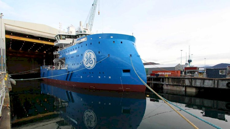 Ulstein's offshore wind vessel floated out
