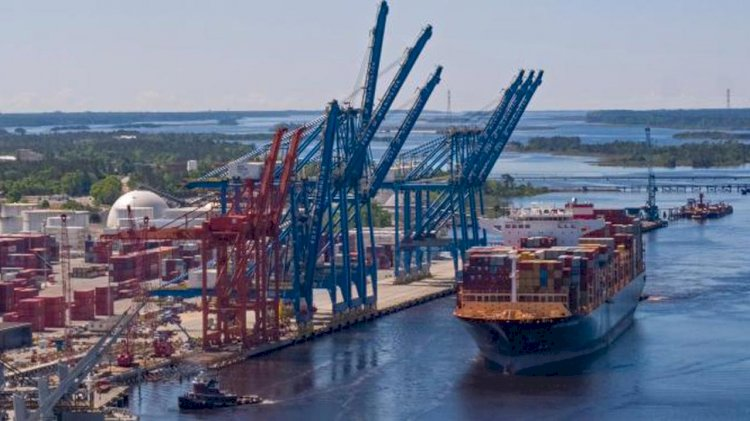 Increased air draft allows larger ships to reach the Port of Wilmington